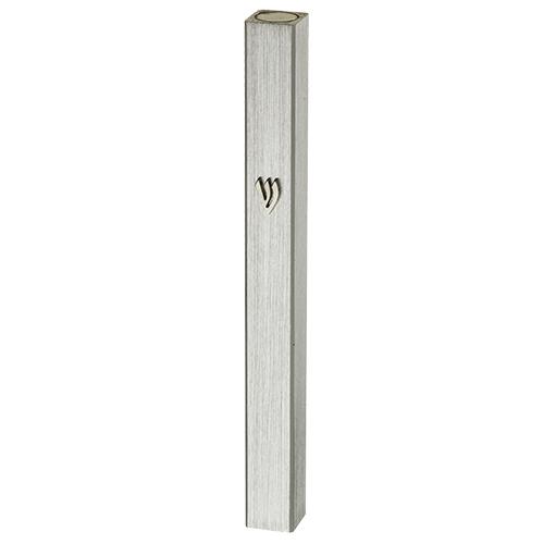 for 7cm scroll 3.5 inches Judaica Galore Mezuzah /Étui en aluminium r/ésistant aux intemp/éries pour prot/éger votre rouleau Mezuzah marron